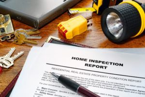 home inspection report form